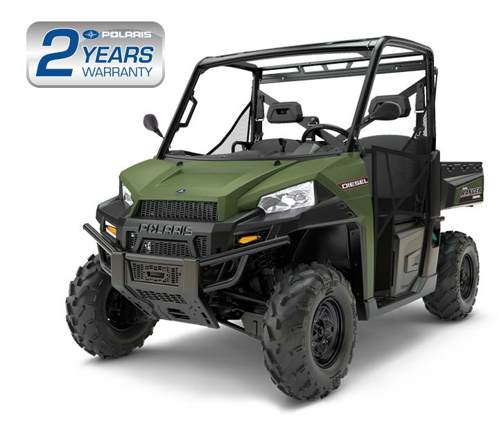 Polaris Ranger Diesel available from ATV World