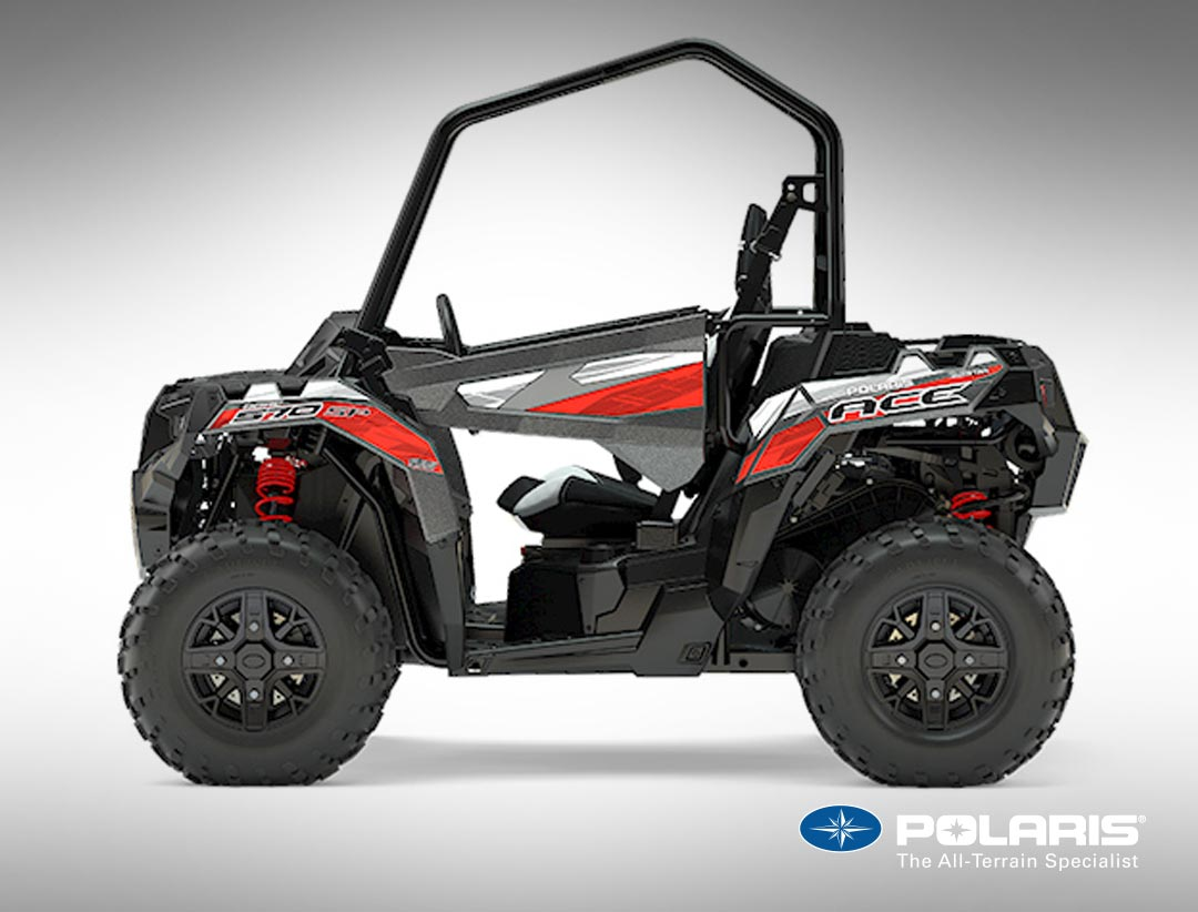 polaris ace single seat all terrain vehicle available from atv world. Black Bedroom Furniture Sets. Home Design Ideas