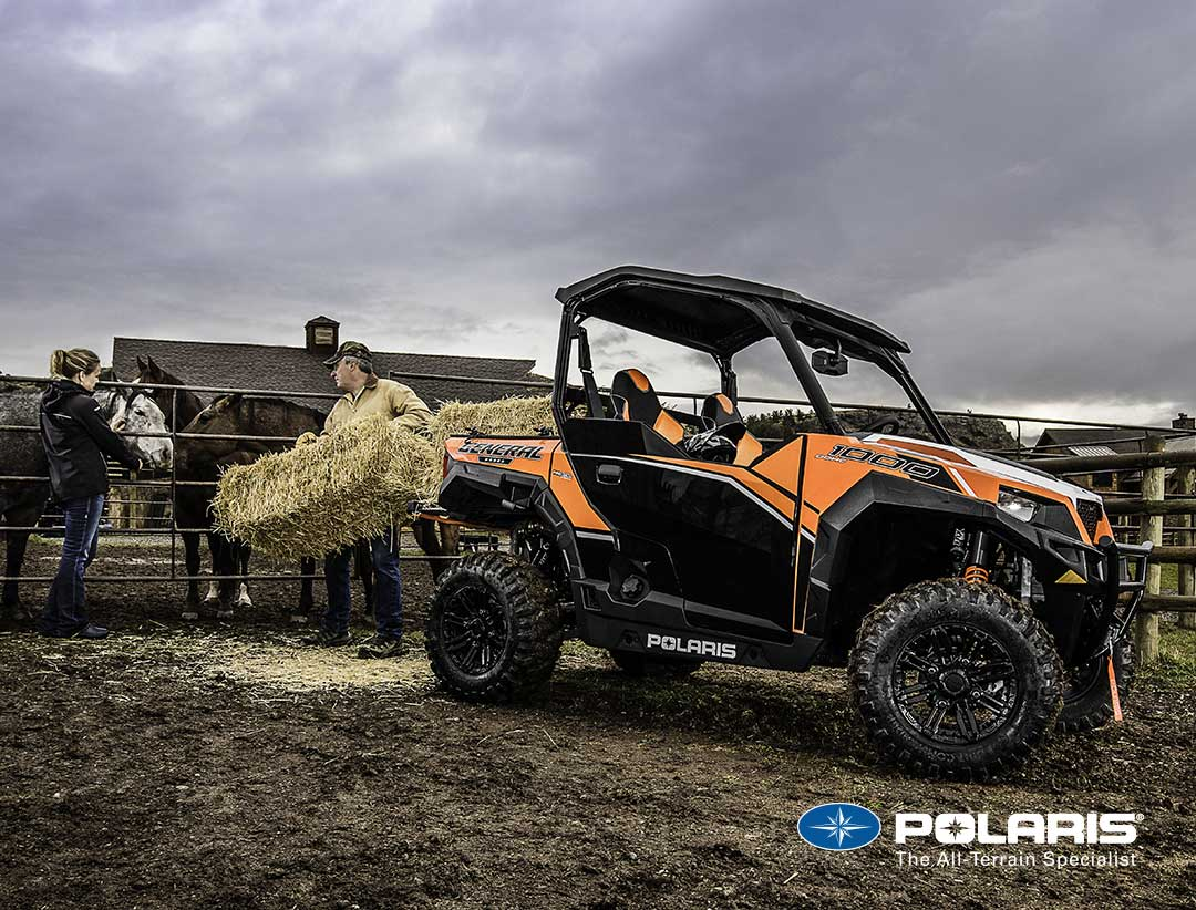 Polaris General Utility Side By Sides Utvs From