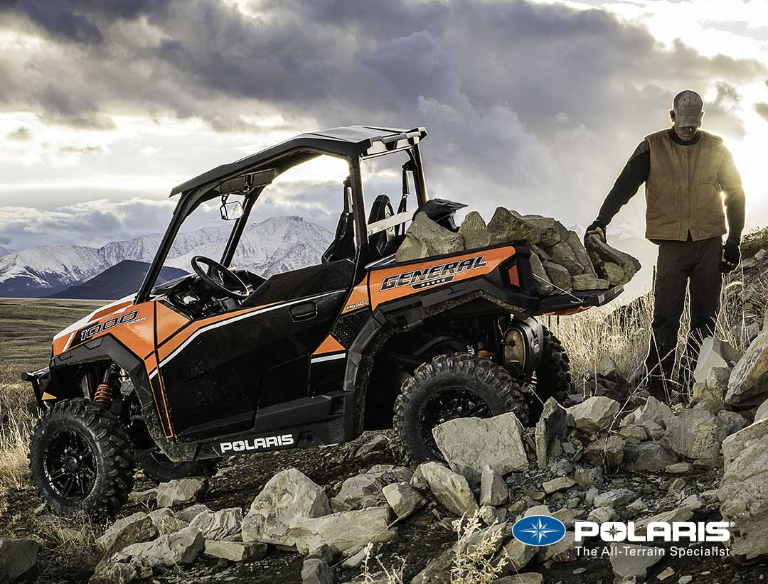 Polaris General available from UK Polaris Dealer