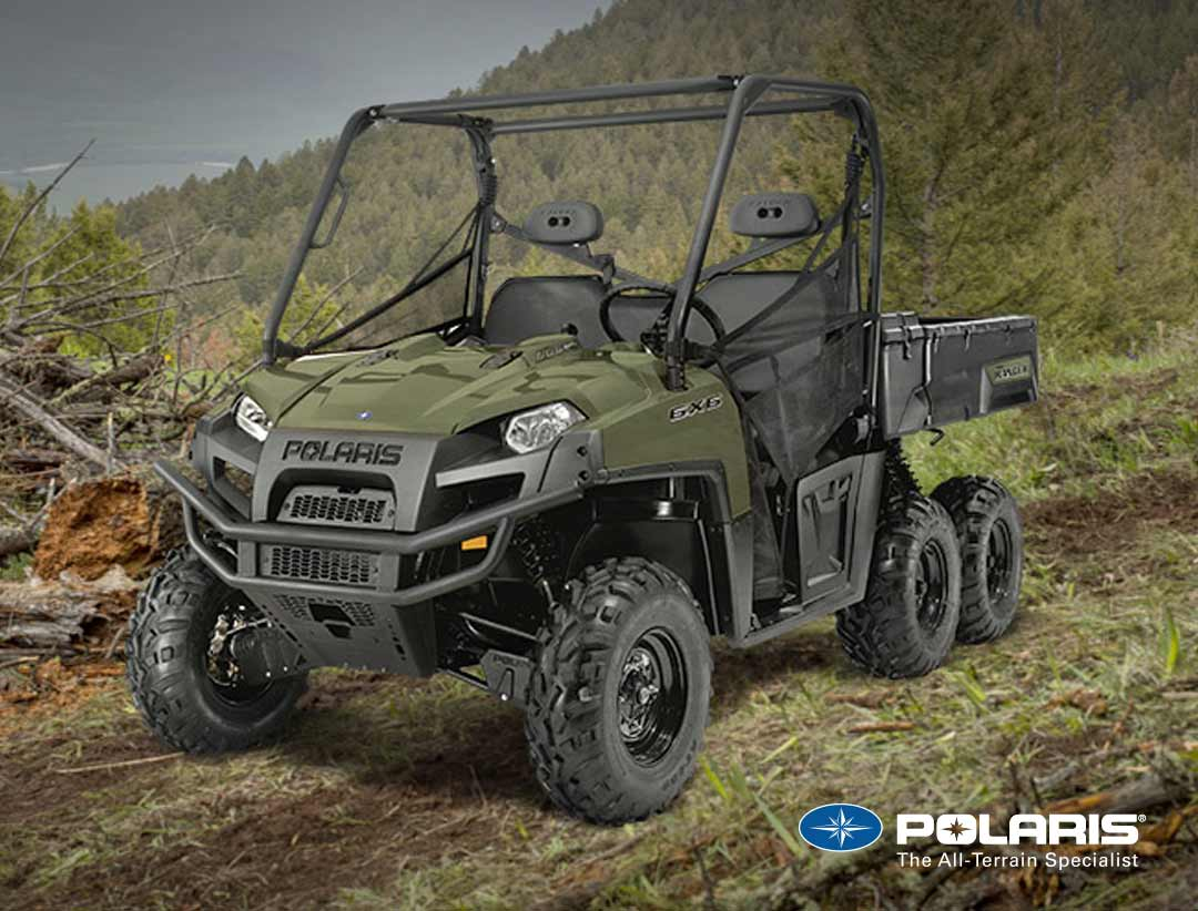 Polaris Ranger 6X6 from UK Polaris dealer ATV World