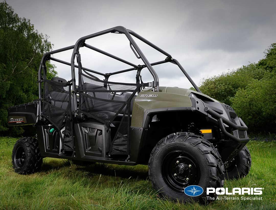 Polaris Ranger Crew Diesel from UK Polaris dealer ATV World