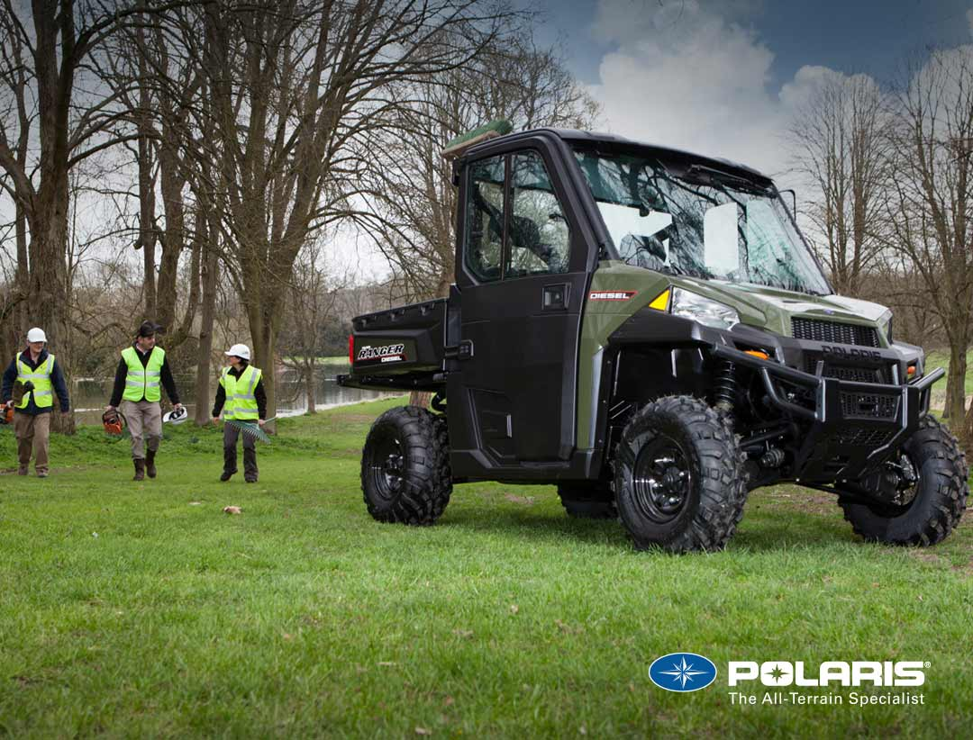 Polaris Ranger Diesel from UK Polaris dealer ATV World