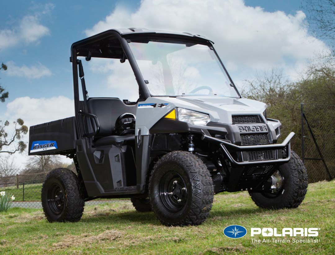 polaris ranger ev electric utv from official uk polaris dealer. Black Bedroom Furniture Sets. Home Design Ideas