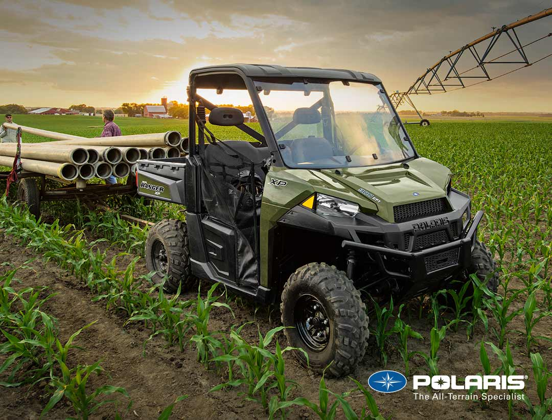 Polaris Ranger XP 900 EPS from UK Polaris dealer ATV World