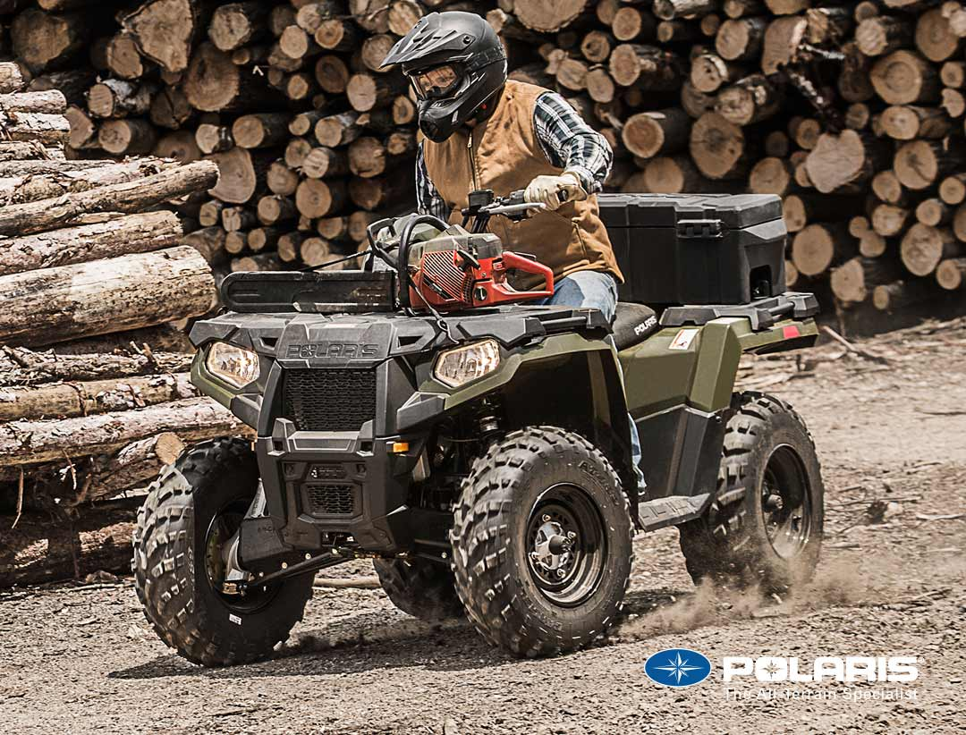 Polaris Sportsman 570 from UK Polaris dealer ATV World