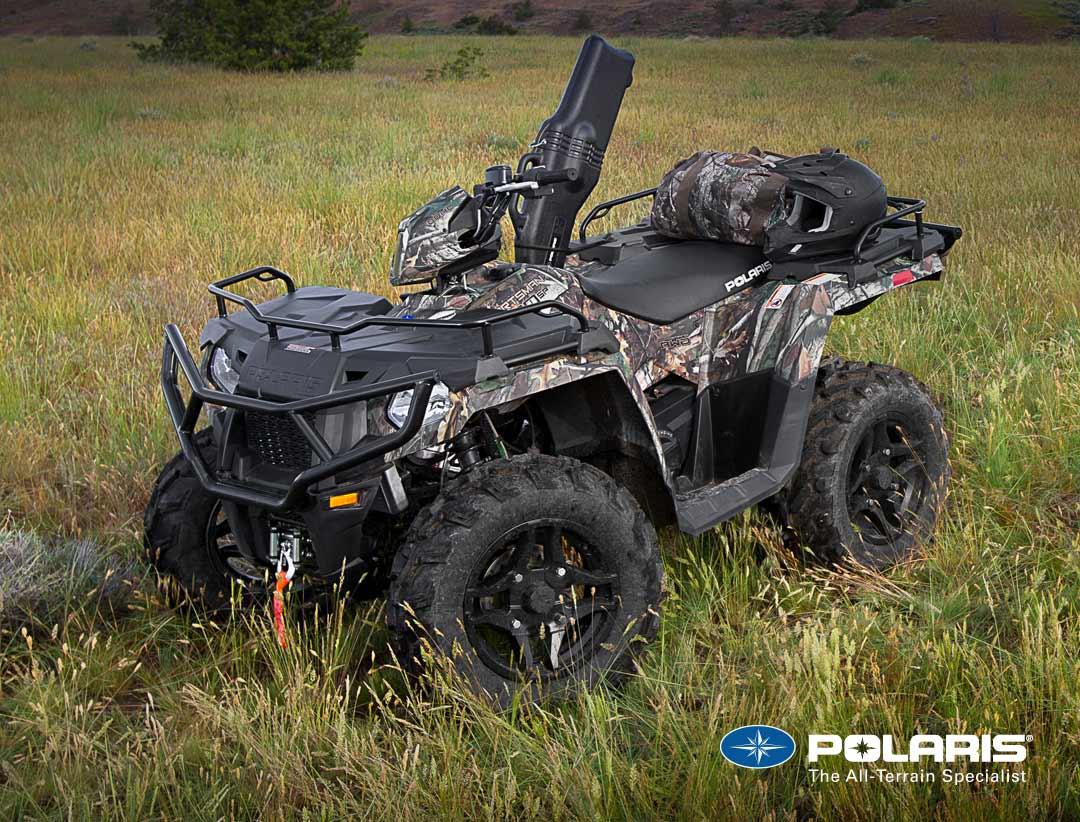 Polaris Sportsman ATV Choose from 450 H O, 570, 6X6 & XP 1000
