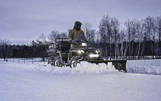 Winter Maintenance with Polaris Sportsman ATV
